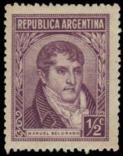 "ARGENTINA 523 (Mi498) - Manuel Belgrano ""1946 Printing"" (pf21143)"