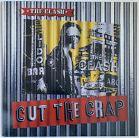 THE CLASH CUT THE CRAP LP CBS UK 1985 DEMO STAMPED SLEEVE NEAR MINT PRO CLEANED