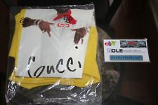 Supreme x Gucci Mane Yellow Tee T-Shirt Size XL Brand New With Tags