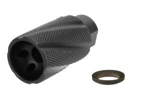 5.56 .223 Linear Comp Compensator Muzzle Brake 1/2-28 USA Steel For Bolt Action