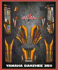 BANSHEE 350 YFM350 Yamaha SEMI CUSTOM GRAPHICS KIT Faast4