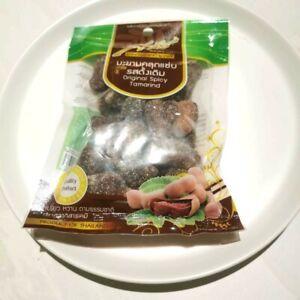 Thai Original Spicy Tamarind Sour Acid Snack Sweet SARAH 90 g. Refreshing Sugar