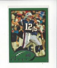 2002 Topps #248 Tom Brady Patriots (First Topps Card)