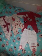 Unisex baby 0-3 months christmas clothes bundle Gap,Next etc