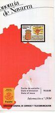 España Estatuto de Autonomía de Navarra año 1984 (DP-611)