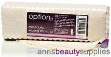 Hive of Beauty MINI 100 Professional Fabric Waxing Strips Wax Bikini Brazilian