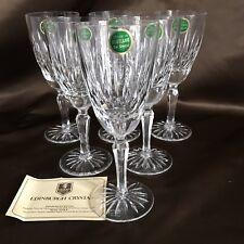 "6 Edinburgh Crystal 8"" Stemware Glasses"