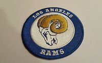 """LA Los Angeles RAMS EMBROIDERED IRON ON PATCH  3"""" x 3"""""""