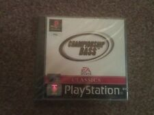 CHAMPIONSHIP BASS CLASSICS NEW AND SEALED PSONE SONY  PLAYSTATION PS1 PS2 PAL