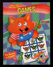 GAMES:  Wipe-Off Activity Book - NEW - MINT - FREE  S/H  Offer Available