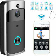 WiFi Wireless Doorbell Ring Camera Smart Video Door Bell Intercom CCTV Phone APP