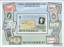 Montserrat block57 mint never hinged mnh 1990 150 years Stamps