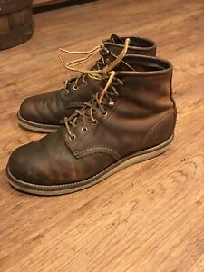 red wing Rovers boots. Fits Size 9