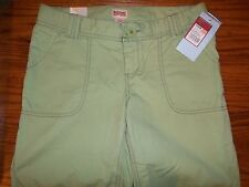 NEW WOMEN'S LIME GREEN MOSSIMO BERMUDA SHORTS SIZE 1 MSP $14.99