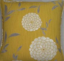 A 16 Inch Cushion Cover In Laura Ashley Erin Mimosa Fabric