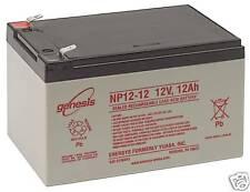 12Ah Battery 12V Sealed Lead Acid Battery Enersys