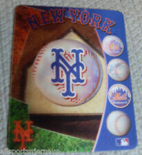 "NEW MLB 4""X5"" SHIFTING 3D MAGNET -  NEW YORK METS"