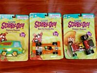 Scooby-Doo Friction Powered set of 3 Mystery Machine Shaggy Scooby Doo NIP 2000