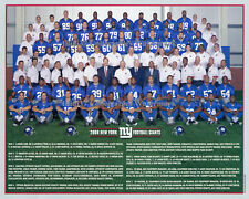 2009 NEW YORK GIANTS NFL FOOTBALL TEAM 8X10 PHOTO PICTURE