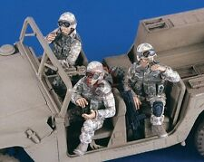 Verlinden 1/35 US HMMWV Humvee Crew / AFV Riders in Iraq War (3 Figures) 2365