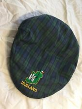 VINTAGE SHANDON GREEN IRELAND CAP GOLF NEWSBOY CABBIE DESIGNER T.O. GORMAN   M