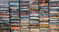 Lots of 25 Used Assorted Genre DVD Movies TV Shows 25-Bulk DVDs Lot Wholesale