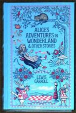 ALICE'S ADVENTURES IN WONDERLAND & OTHER STORIES ~ LEWIS CARROLL ~ LEATHER GIFT
