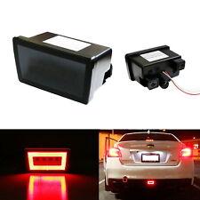 Smoked Lens LED Rear Fog Light, Brake Backup Reverse For 2011+ Subaru WRX STi