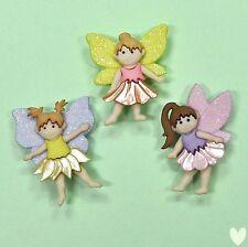 Dress It Up Botones Flor Hadas 7022-Adorno-Navidad Jardín
