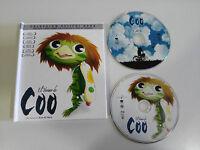 EL VERANO DE COO BLU-RAY + DVD + LIBRO EDIC DELUXE KEIICHI HARA ESPAÑOL JAPONES