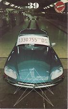 LE DOUBLE CHEVRON 39 1975 CITROEN DS C3 FRANCOIS LECOT FORMULE BLEUE Le SEM