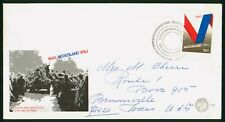 Mayfairstamps Netherlands FDC VRIJ Crowd of People First Day Cover wwr_11983