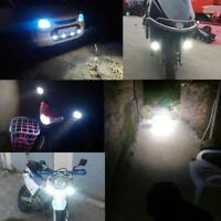 2pcs CNSUNNYLIGHT 1000LM Motorcycle 6LED Headlights Scooter Fog Spotlights hv2n