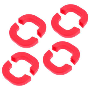 4pcs Silicone Anti-scald Hot Handle Protectors Heat Resistant Handle Sleeves
