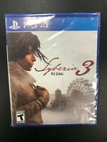 Syberia 3 B.H. Sokal PS4 Playstation 4 Brand New Sealed Complete CIB Sony