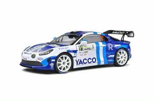1/18 ALPINE VOITURES MINIATURE ALPINE A110 RALLY WRC MONZA 2020-SOLIDOS1801613