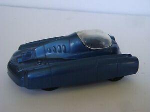 Marx 7012 Tom Corbett Space Academy / Metallic Blue Space Car w/ Canopy