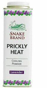 Snake Brand Prickly Heat Powder – Lavender (300g)