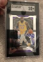 2019 Panini Prizm LeBron James #129 SGC 10 GEM MINT Lakers Not Psa Not Bgs