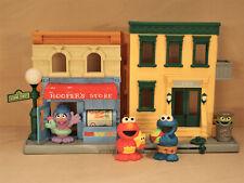 123 Sesame Street Hooper's Store Playset, Hasbro, Elmo, Phoebe, Cookie Monster