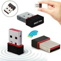 USB wifi Adapter Wireless Dongle Adaptor 802.11 B G N Network. Lan F1U8