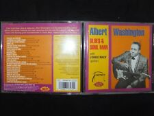 CD ALBERT WASHINGTON / BLUES & SOUL MAN /