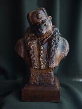 """Carved sculpture """"Mr. Bear"""""""