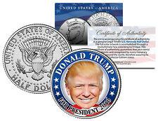 DONALD TRUMP FOR PRESIDENT 2016 - JFK Half Dollar US Coin Political CAMPAIGN