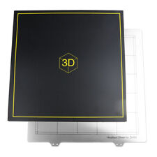 300x300mm Spring Steel Sheet Heat Bed ,Printing Build Plate+Magnetic Sticker