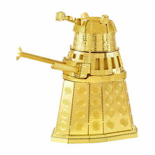 Metal Earth Doctor Who Gold Dalek Steel Model Kit NEW