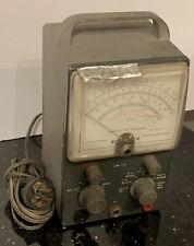 Vintage Heathkit Vtvm Model V 7a 2 Tube Ham Radio Tester