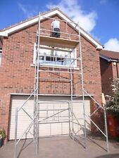 6x4ft LIGHT DUTY SCAFFOLD TOWER 21ft WORKING HEIGHT free delivery