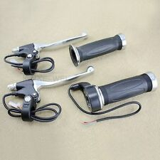2 Paar Gasgriff + Bremshebel für Roller/Scooter/Moped