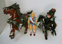 Advanced Dungeons & Dragons Evil Nightmare & Destrier Horse & Northlord 1983